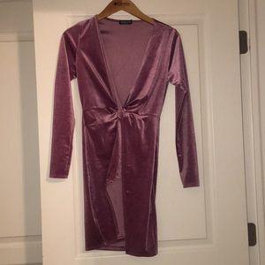 Sugar Coat Velvet Dress